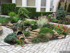 ландшафтный дизайн загородного дома — Рамблер/картинки