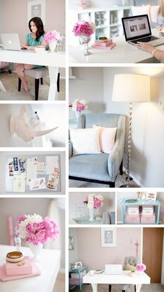 Inspiration for my bedroom decor.. I already got the color to paint it... Pink carnation!
