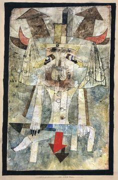 The Wild Man, 1922 Paul Klee