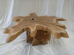 Balinese Furniture Natural Saur Wood Log Coffe Table Timber Art Feature Woodworking Inspiration, Wood Logs, Coffe Table, Balinese, Home Furniture, Projects To Try, Natural, Ebay, Home Decor