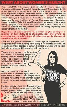 "Before the pro-choice ""red hanger"" slogan there was never one instance of a coat hanger abortion. After it was legalized there was one recorded instance. One. Because the Left gave them the bright idea."