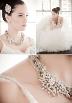 diamentes for a statement bridal necklace  #statement #necklace