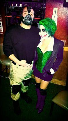 The female joker pinteres babe and joker cosplay halloween joker femalejoker bane diy female joker costumebane solutioingenieria Image collections