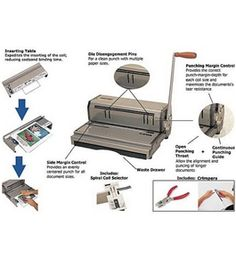 Spiral Bind Corp. CoilMac-M Coil Binding Machine