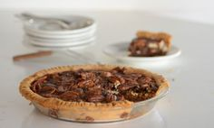 Chocolate Pecan Pie on https://www.elanaspantry.com