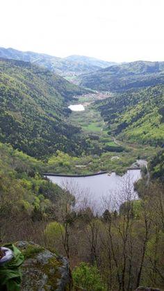Au d part du lac de lispach cette randonn e vous fera for Auberge du pin rouge