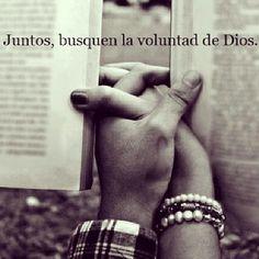 Juntos busquemos la Voluntad de Dios.