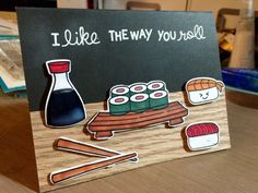 Sushi birthday card                                                                                                                                                                                 More