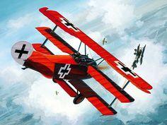 Jasta 11 Fokker Dr.I Richthofen - Danijel Frka - box art Revell