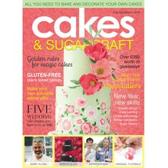 Cakes & Sugarcraft Magazine February/March 2016
