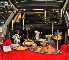 upscale tailgate - don't forget the real bling - your COBB - portable gourmet outdoor cooking system. www.cobbgrillamerica.com