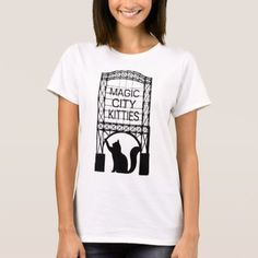 Magic City Kitties Women's Basic T-shirt - tap, personalize, buy right now!