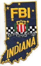 FBI INDIANA POLICE PATCH