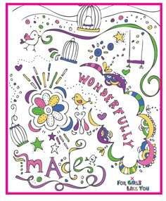 Doodle Journal  Store – For Girls Like You