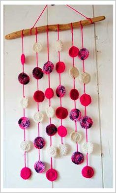 Great Kitchen Ideas Home Decor Experts Depend on for Gorgeous Results - DIY Home Decor Tips Christmas Crafts Sewing, Sewing Crafts, Crochet Flower Patterns, Crochet Flowers, Crochet Home, Crochet Gifts, Knitting Projects, Crochet Projects, Crochet Decoration