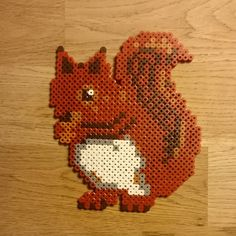 Squirrel hama perler beads by livetpaamols