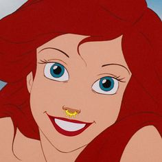 Ariel | This Is What Disney Princesses Would Look Like With Septum Piercings