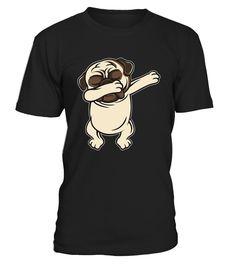 Funny Pug Dab Shirt - Dabbing Pug