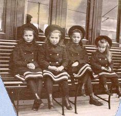 Tatiana, Maria, Olga and Anastasia, c.1905-06