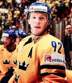 Gabriel Landeskog for team Sweden