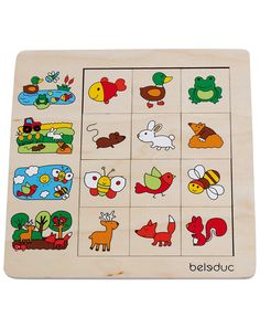 Sortier-Puzzle LEBENSRÄUME 12-teilig in bunt Baby Kind, Bunt, Puzzle, Playing Cards, Comics, Toys, Kids, Puzzles, Comic Book