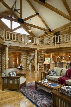 Another beautiful Estemerwalt Log Home