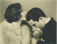Ahh…the sweet romanticism of a gentle kiss on the hand…