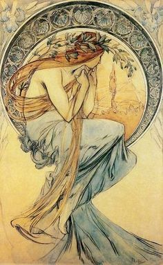 Mucha's Art Nouveau posters and advertisements