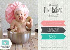 Mini Baker Session