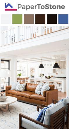Living room color palette - black dark-amber dark-apple-green dark-gamboge