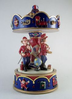 MUSICAL MARCHING BAND CAROUSEL Merry Go Round