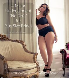 You are in the process of picking out your plus size wedding dress for the big day, and someone tells you that you need to look for your undergarments too. WHAT!? Most people don't rea…