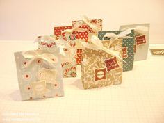 Verpackung Goodie Box Give Away Gift Idea Stampin Up