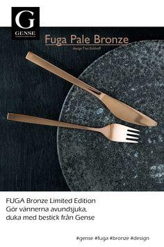#fuga #gense #design #kitchen #home Design Kitchen, Kitchen Living, Carving, Bronze, Tableware, Design Of Kitchen, Dinnerware, Wood Carvings, Tablewares