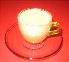 Cappuccino van langoustines.