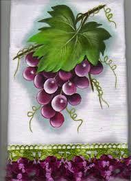 Resultado de imagem para pinturas em tecidos uvinhas