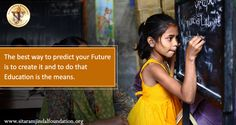 The best way to predict your future is to create it and to do that #education is the means. More often than not, deserving #students are unable to pursue higher studies or careers of their choice owing to financial constraints. The #Foundation has instituted a variety of #scholarship programs to help those in need of pursuing higher #education and stride towards their aspirations. http://www.sitaramjindalfoundation.org/scholarships.php