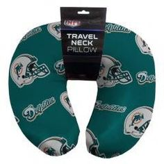 Miami Dolphins NFL Beadded Spandex Neck Pillow