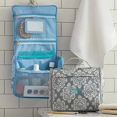 Ultimate Hanging Toiletry, Ikat Medallion #pbteen