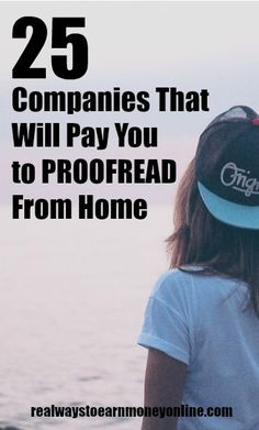 25 Companies That Hire Work at Home Proofreaders and Editors Are you a grammar expert? If so, you may be able to use your skills and work at home. Here's a list of 25 companies that will pay you to proofread. Earn Money From Home, Way To Make Money, How To Make, Make Money Writing, Hobbies That Make Money, Work From Home Opportunities, Work From Home Jobs, Business Opportunities, Business Ideas