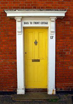 7 Best Red Brick Yellow Door Images Yellow Doors Red