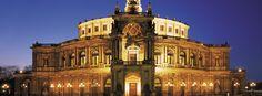Theaterplatz in #Dresden mit Semperoper im alten Glanz, Fotograf: Sylvio Dittrich