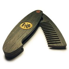 Beard Sense Beard Comb Captain Black by BeardSenseBeardCombs