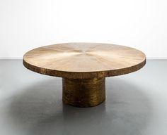 Michele Oka Doner Table 'Radiant' in Bronze