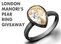 TheFlairist is giving away one London Manori's Pear Ring.
