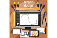 Graphic Design and Designer Tools by robuart on Creative Market