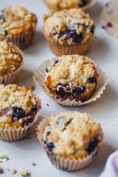 Muffins bursting with blueberry flavour with lovely notes of lavender Lavender Cookie Recipe, Basic Butter Cookies Recipe, Lavender Recipes, Fun Baking Recipes, Healthy Baking, Sweet Recipes, Muffin Recipes, Baking Ideas, Quick Easy Desserts
