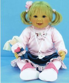 Masterpiece doll Lilly by Doris Stannat in my own collection
