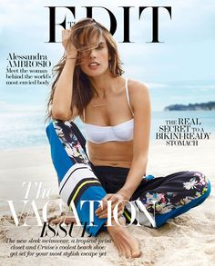Alessandra Ambrosio for The Edit by Miguel Reveriego