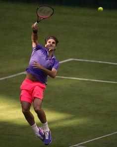 Roger Federer at Wimbledon. #Federer #Tennis #Wimbledon